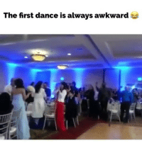 Dancing, Awkward, and Dance: The first dance is always awkward I can't believe what happens at the end!😭