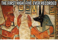 Dank, Record, and 🤖: THE FIRST HIGH-FIVE EVER RECORDED