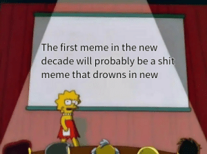 He is speaking the language of the gods: The first meme in the new  decade will probably be a shit  meme that drowns in new He is speaking the language of the gods