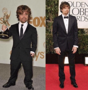 The first picture of Peter Dinklage was taken back on 2011 and the second one is from season 8 on 2018. Time flies so fast.: The first picture of Peter Dinklage was taken back on 2011 and the second one is from season 8 on 2018. Time flies so fast.