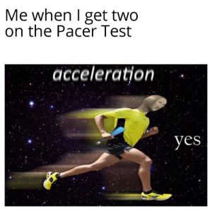 The FitnessGram Pacer Test is a multistage aerobic capacity...: The FitnessGram Pacer Test is a multistage aerobic capacity...