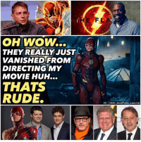 Who should direct it ? 🤔 Poor EzraMiller. 😂 he's always losing his directors, but now that FlashPoint was announced, it must mean that WB is doing something to get these directors attention to stay and direct TheFlash Solo film. 🤷🏽‍♂️ Never forget this movie was originally supposed to come out in 2018 after JusticeLeague and AquaMan. 😤⚡️ DCExtendedUniverse 💥 DCEU DC JL: THE  FL  OH WOW..  THEY REALLY JUST .  VANISHEDFROM  DIRECTING MY  MOVIE HUH...  THATS  RUDE.  IG eDC.MARVEL.UNITE Who should direct it ? 🤔 Poor EzraMiller. 😂 he's always losing his directors, but now that FlashPoint was announced, it must mean that WB is doing something to get these directors attention to stay and direct TheFlash Solo film. 🤷🏽‍♂️ Never forget this movie was originally supposed to come out in 2018 after JusticeLeague and AquaMan. 😤⚡️ DCExtendedUniverse 💥 DCEU DC JL