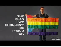 Bitch, Emo, and Lgbt: THE  FLAG  WE  SHOULDN'T  BE  PROUD  OF.  GAYTIMES uisce-bitch: onelittlelie:   phan-killjoy-emo-trash:   theshitneyspears:  okay but…watch this because too real  My whole body is covered in goosebumps. We need to help each other.   oh ok didn't need to cry this evening but i guess i don't have a choice   It really is devastating that so many young lgbt people kill themselves because they can't be themselves