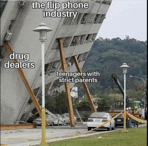 teenagers: the flip phone  industry  drug  dealers  teenagers with  strict parents