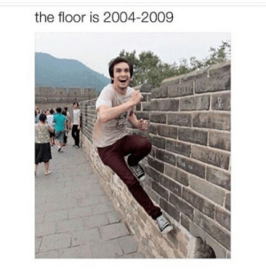 Tumblr, Blog, and Com: the floor is 2004-2009 brightnightskys:Dammit Brendon