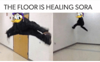 ~Matt from the page Threadiverse Stop By: We Post GIFs: THE FLOOR IS HEALING SORA ~Matt from the page Threadiverse Stop By: We Post GIFs