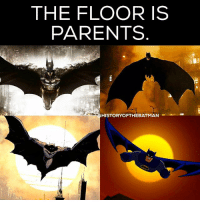 """Batman, Facebook, and Love: THE FLOOR IS  PARENTS  HISTORYOFTHEBATMAN Good Knight Gothamites! Tomorrow we'll have more of our current session """"What's In That Utility Belt: A History of Batman Gadgets""""! Be sure to become a Gothamite and please follow for more daily Batman media on Twitter (HistoftheBatman), Tumblr, Facebook and please subscribe on YouTube (History of the Batman) and to my podcast on iTunes! Have a great night and we will have more History of the Batman tomorrow. Remember Gothamites, it's all about Peace, Love and Batman! ✌🏼💙🦇😄"""