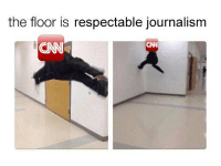 cnnblackmail: the floor is respectable journalism  CNN cnnblackmail