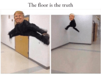 It really seems to be the one things he hates most in this world: The floor is the truth It really seems to be the one things he hates most in this world