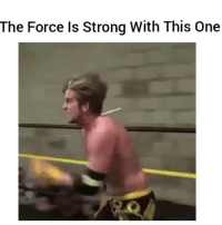Funny, Lmao, and Wild: The Force Is Strong With This One He wild lmao