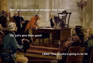 The founding fathers knew what was up: The founding fathers knew what was up