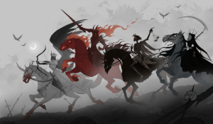 The Four Horsemen of the Apocalypse are nearly complete this year: The Four Horsemen of the Apocalypse are nearly complete this year