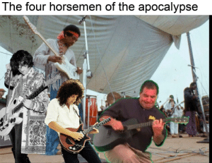 It's almost Christmas: The four horsemen of the apocalypse It's almost Christmas