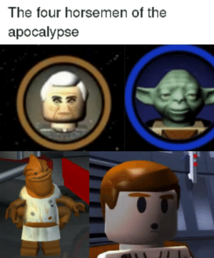thicc: The four horsemen of the  apocalypse thicc