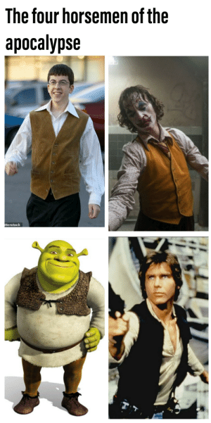 Who wore it better: The four horsemen of the  apocalypse  tterstock Who wore it better