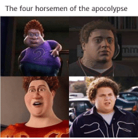 Four Horsemen, The Four, and The Four Horsemen: The four horsemen of the apocolypse