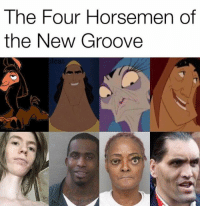 Four Horsemen, New, and The Four: The Four Horsemen of  the New Groove  icat
