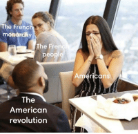 American, Revolution, and American Revolution: The Frenc  mondrchy  The Frern  people  mericans  The  American  revolution Yup https://t.co/gZoUu05HNY