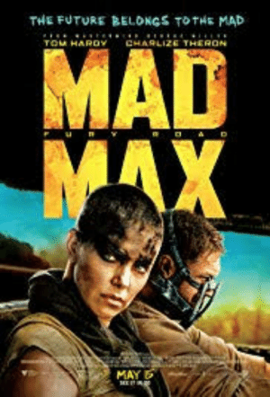 Mad max: Fury Road (2015) was mainly filmed in South Africa, the main actress is South African and Max himself is played by an englishman. So you can all stop those shitty jokes of Australia being like Mad max it hasnt been filmed in our country for 30 years.: THE FUTURE BELONGS TOTHE MAD  TOM HAROY  CHARLIZE THERON  MAX  MAY Mad max: Fury Road (2015) was mainly filmed in South Africa, the main actress is South African and Max himself is played by an englishman. So you can all stop those shitty jokes of Australia being like Mad max it hasnt been filmed in our country for 30 years.