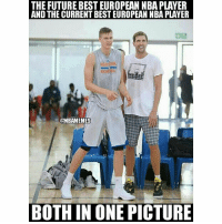 💪🏽🙌🏽💯: THE FUTURE BEST EUROPEAN NBA PLAYER  AND THE CURRENT BEST EUROPEAN NBA PLAVER  BAS  It  @NBAMEMES  BOTH IN ONE PICTURE 💪🏽🙌🏽💯