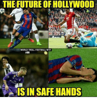 😂😂😂: THE FUTURE OF HOLLYWOOD  QATAR  WORLD TROLL FOOTBALL-WTF  IS IN SAFE HANDS 😂😂😂