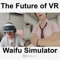this dude nut in his pant: The Future of VR  Waifu Simulator  GB GoBolano this dude nut in his pant