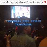thegame & meekmill dropped their beef and got straight in the booth 🔥 what you think⁉️ Follow @bars for more ➡️ DM 5 FRIENDS: The Game and Meek Mill got a song !!  eekmi1l went stupid  thegame & meekmill dropped their beef and got straight in the booth 🔥 what you think⁉️ Follow @bars for more ➡️ DM 5 FRIENDS