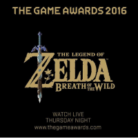 The Game Awards are tomorrow! Tune in to the pre-show at 5:30 PM PT for an exclusive look at The Legend of Zelda: Breath of the Wild, then stay tuned for even more details during the show!: THE GAME AWARDS 2016  THE LEGEND OF  TM  THE  WATCH LIVE  THURSDAY NIGHT  www.thegameawards.com The Game Awards are tomorrow! Tune in to the pre-show at 5:30 PM PT for an exclusive look at The Legend of Zelda: Breath of the Wild, then stay tuned for even more details during the show!