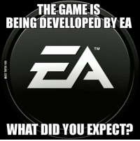 THE GAME IS  BEING DEVELLOPEDBy EA  TM  WHAT DID YOU EXPECTP