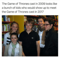 "Make sure to check out our ""Winter is Here"" Hoodies >> https://www.teezily.com/winter-is-here3?src=p2: The Game of Thrones cast in 2009 looks like  a bunch of kids who would show up to meet  the Game of Thrones cast in 2017  oku Make sure to check out our ""Winter is Here"" Hoodies >> https://www.teezily.com/winter-is-here3?src=p2"