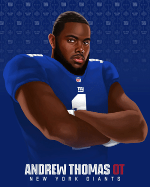 The @Giants land @GeorgiaFootball OT Andrew Thomas! #NFLDraft https://t.co/oj7sFE0iHf: The @Giants land @GeorgiaFootball OT Andrew Thomas! #NFLDraft https://t.co/oj7sFE0iHf