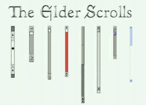 Elder Scrolls, The Elder Scrolls, and Scrolls: The Gider Scrolls The Elder Scrolls