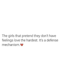 Ayeeee 😓 are you that guarded girl? That has a wall up and another wall behind that wall and a bridge that leads to another wall and if someone does climb over you still deny them access. 🚫⚠️ Being fearful that you might get hurt will repeat until you start expecting more! Since you've decided to heal do future bae a favor now: open up and feel. It's okay to cry and be vulnerable. Blackcitygirl: The girls that pretend they don't have  feelings love the hardest. It's a defense  mechanism. Ayeeee 😓 are you that guarded girl? That has a wall up and another wall behind that wall and a bridge that leads to another wall and if someone does climb over you still deny them access. 🚫⚠️ Being fearful that you might get hurt will repeat until you start expecting more! Since you've decided to heal do future bae a favor now: open up and feel. It's okay to cry and be vulnerable. Blackcitygirl