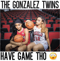 Dylan and Dakota Gonzalez ball out... They both start for UNLV 💯 ⠀ Athletes: @miss_dyl & @misss_kota: THE GONLALEL TWINS  HAVE GAME THO Dylan and Dakota Gonzalez ball out... They both start for UNLV 💯 ⠀ Athletes: @miss_dyl & @misss_kota