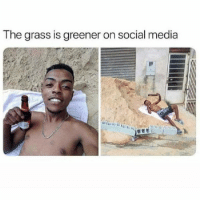 "Future, Memes, and Social Media: The grass is greener on social media Fronting & Finessing...It's What A Lot Of Folks Be On Social Media Wise. As MC Breed Said: ""Ain't No Future In Yo Frontin"" 😂😂😂😂 pettypost pettyastheycome straightclownin hegotjokes jokesfordays itsjustjokespeople itsfunnytome funnyisfunny randomhumor rellstilldarealest"