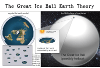 "Another One, Tumblr, and Blog: The Great Ice Ball Earth Theory  regular flat earth model  the REAL shape of our planet  sun melts a pond""  in the ice ball  traditional ""flat"" earth  surrounded by an ice wall  Earth  The Great Ice Ball  (possibly hollow)  possible that  our ""planet"" is  just another  one of many  ponds on the  Great Ice Ball  ice <p><a href=""http://pordondemeda.tumblr.com/post/167554929142/mierdasvarias-flatearthmemes-what-the-fuck"" class=""tumblr_blog"">pordondemeda</a>:</p><blockquote> <p><a href=""http://mierdasvarias.tumblr.com/post/167551122764/flatearthmemes-what-the-fuck-todo-el-mundo"" class=""tumblr_blog"">mierdasvarias</a>:</p>  <blockquote> <p><a href=""https://flatearthmemes.tumblr.com/post/166988488199/what-the-fuck"" class=""tumblr_blog"">flatearthmemes</a>:</p> <blockquote><p style="""">what the fuck<br/></p></blockquote> <p>Todo el mundo contento: La Tierra es plana y esférica a la vez.<br/></p> </blockquote>  <p>Ti te ríes, pero un cliente me dio una charla de casi 2 horas de esto…</p> </blockquote> <p>Y si no, desmiéntelo.</p>"