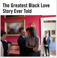 "Disappointed, Fanatic, and Memes: The Greatest Black Love  Story Ever Told  @17th Soulja President Obama has shown Black men what loving a Black woman completely and correctly looks like ""Michelle LaVaughn Robison, girl of the South Side…"" so began President Obama's tearful address to his wife during Tuesday night's farewell address. As the most visible Black man on the planet stood before the world bidding us adieu, there sat his brown, statuesque, unmistakably Black wife blushing as her husband of 25 years stood at the podium raving over her. If you asked me to define Black love, I'd point you to that video. Nearly 13 years ago when a young, Black Illinois Senator first entered Black America's radar, I was looking for the great woman proverbially at the side every great man. Controversial as it may be, I always appreciate seeing a powerful Black man married to a Black woman, since too often, non-Black wives, especially White women, are used as a tool to bargain for proximate Whiteness. So when I found out that Barack Obama's wife was Black, and not the kind of rigid, palatable, ambiguous Black woman that America loves to hold up as proof of its diversity but an unambiguously Black, thicker-than-cold-grits, abundantly-melanated sister from the South Side, I melted. In the decade plus since Obama shot to political superstardom, I have been less than a fanatic of his policies, vocally critical even. But my disappointment in his performance as president has been in stark contrast to his performance as a family man and husband. I expect any man to adore his wife, but Obama's unabashed adoration and gushing over the woman he referred to as the ""brilliant, funny, generous woman who, for whatever reason, agreed to marry"" him is the wildest dream of my wildest dreams of love. The unimaginable sacrifice Michelle Obama made in allowing her entire life to be scrutinized, demonized, judged and laid bare for a public largely relentless in its brutal racism and misogynoir has been repaid by her husband with the dreamiest intimate gazes from a podium before millions. The man she met nearly 30 years ago when she was assigned to mentor him as a summer associate at the law firm where she practiced has shown his appreciation for her . 17thsoulja"