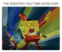 Rip Stephen Hillenberg. I'm ready for the tribute.: THE GREATEST HALF TIME SHOW EVER  @FUNNIESTNFLMEMES Rip Stephen Hillenberg. I'm ready for the tribute.