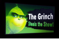 The Grinch: The Grinch  Steals the Show