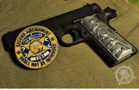 Memes, Party, and Http: The Gun Rights Debate was settled in 1791, Hillary. You are a little bit late to the party! -- 2nd Amendment Gun Permit Patches, available only from: http://store.colddeadhands.us/collections/second-amendment-gun-permit