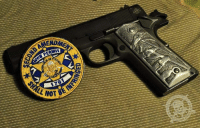 Memes, Obama, and Party: The Gun Rights Debate was settled in 1791, Mr. Obama. You are a little bit late to the party! -- 2nd Amendment Gun Permit Patches,  available only from: http://store.colddeadhands.us/collections/second-amendment-gun-permit