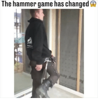 Memes, Game, and 🤖: The hammer game has changed s  ay doje Nailed it.