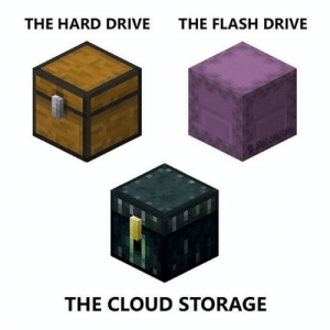Beautiful these Chest: THE HARD DRIVE  THE FLASH DRIVE  BabbleBan  THE CLOUD STORAGE Beautiful these Chest