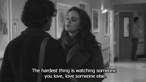 Love, Net, and Thing: The hardest thing is watching someone  you love, love someone else. https://iglovequotes.net/