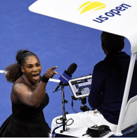 Memes, Serena Williams, and Sports: The headlines should have been about the tennis, but people are talking about Serena Williams' extraordinary rant at the umpire at the US Open final, and his reaction. Tap the link in our bio 👆to find out more. Williams was given a game penalty for her outburst, which followed racquet smashing and another code violation. Naomi Osaka kept her focus to beat Williams, becoming the first Japanese player to win a Grand Slam. Williams refused to shake hands with umpire Carlos Ramos after the match. She graciously congratulated Osaka at the net after the Japanese player completed an extraordinary victory. PHOTO 1: Danielle Parhizkaran-USA TODAY SPORTS PHOTO 2: (Naomi Osaka of Japan with Serena Williams) TIMOTHY A. CLARY-AFP-Getty Images tennis sports USOpen serenawilliams bbcnews