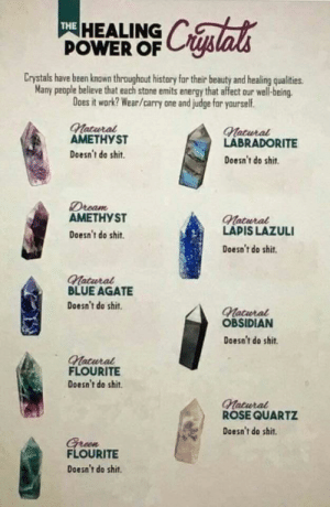 The healing power of crystals: The healing power of crystals