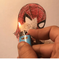 The hero behind the mask By @ialastad - stanlee spiderman art 9gag: The hero behind the mask By @ialastad - stanlee spiderman art 9gag