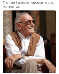 Memes, Stan, and Stan Lee: The hero that made heroes come true  RIP Stan Lee Rip to a legend and icon 🙏🏾