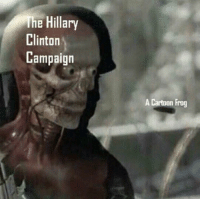Hillary Clinton, Memes, and True: The Hillary  Clinton  Campaign  A Cartoon Frog IT'S TRUE!