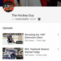 If you live in the states (like me) you know the hockey media here is horrible. If you're looking for a great alternative, check out The Hockey Guy on YouTube. He knows more than the people in America that are paid to do it. Make sure to check him out! (Not paid promotion, just a great channel I thought you guys would like.): The Hockey Guy  V SUBSCRIBED 15,242  Uploads  Revisiting the 1987  Edmonton Oilers  UNLEADE  304 views 1 hour ago  10:28  Hockey News  YEARBOpK  NHL Yearbook Season  Started Today  903 views 2 hours ago  17:46 If you live in the states (like me) you know the hockey media here is horrible. If you're looking for a great alternative, check out The Hockey Guy on YouTube. He knows more than the people in America that are paid to do it. Make sure to check him out! (Not paid promotion, just a great channel I thought you guys would like.)